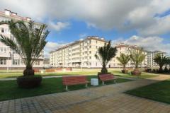 Александровский сад внитри комплекса