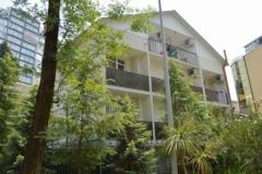 Вид здания со стороны балконов