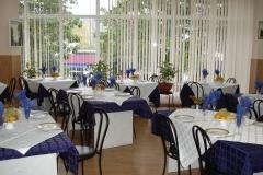 Монерон столовый зал Синий