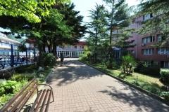 Монерон. Внутренний дворик, слева-бассейн открытый
