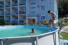 Детский бассейн летний