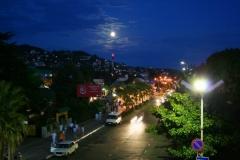 Ночной поселок
