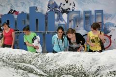 Дети в музее Спортивной Славы в Сочи