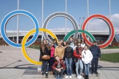 Группа Ртищево в Олимпийском парке