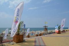 Морской пляж Роза Хутор