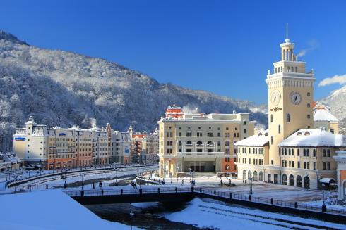 Тур в Сочи. Роза Хутор зимой